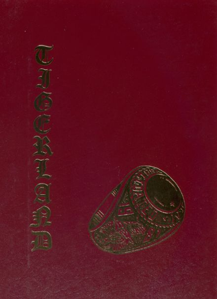 1981 A&M Consolidated High School Yearbook Cover