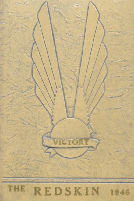 1946 Alden High School Yearbook Cover