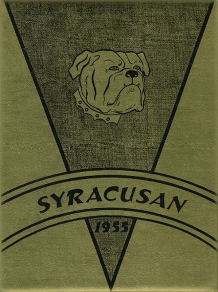 1955 Syracuse High School Yearbook Cover