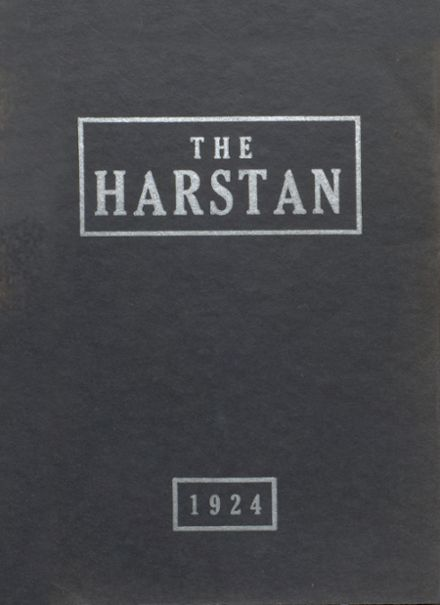 1924 Harter Stanford Township High School Yearbook Cover