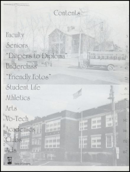 1999 Whitehall High School Yearbook Page 6