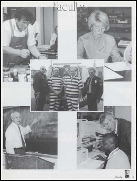 1999 Whitehall High School Yearbook Page 7