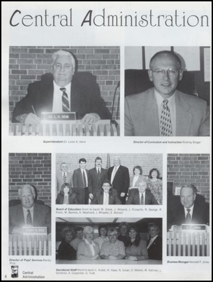 1999 Whitehall High School Yearbook Page 8