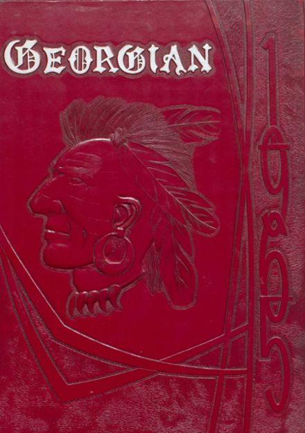 1965 Lake George High School Yearbook Cover