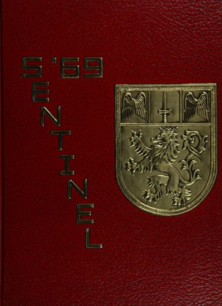1969 Harvard School Yearbook Cover