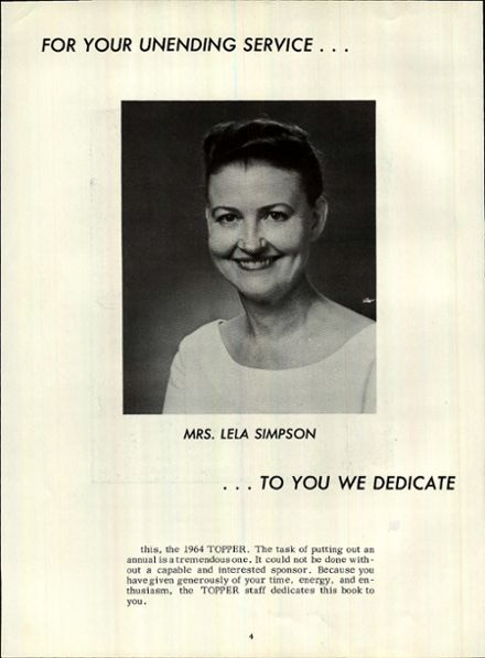 1964 Hillwood High School Yearbook Page 7