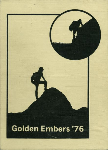 1976 Chaparral High School Yearbook Cover