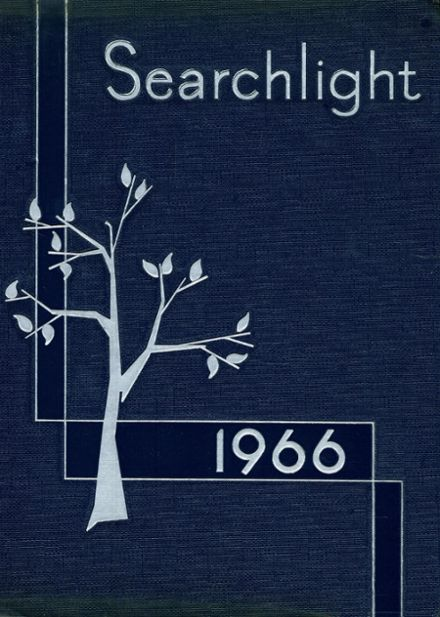 1966 West Newton High School Yearbook Cover