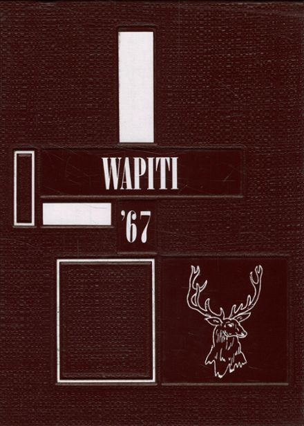 1967 Augusta High School Yearbook Cover