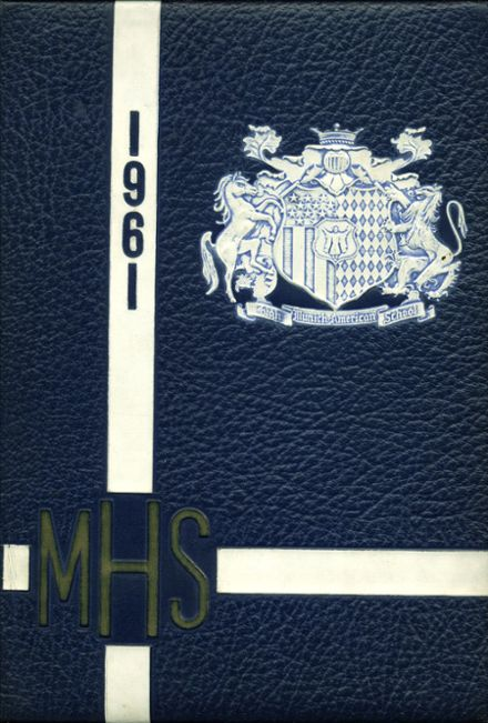1961 Munich American High School Yearbook Cover