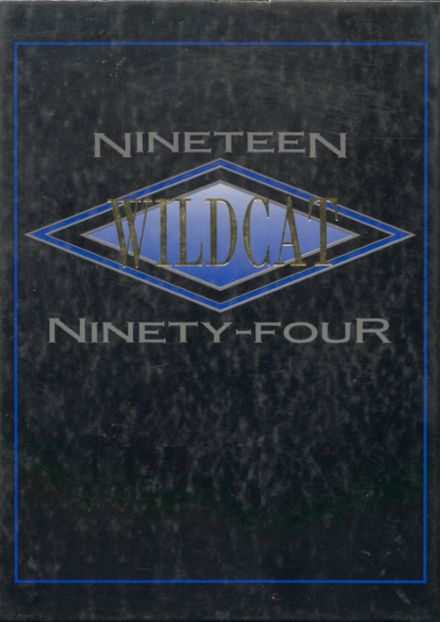 1994 Olive High School Yearbook Cover