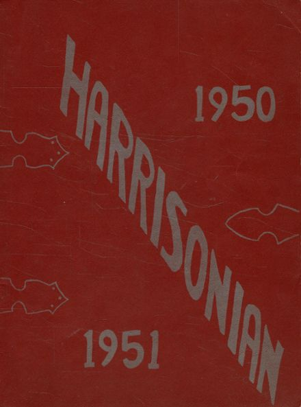 1951 Harrison Township High School Yearbook Page 1