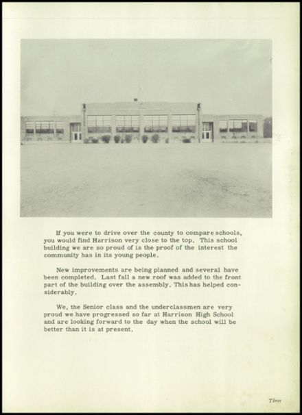 1951 Harrison Township High School Yearbook Page 5