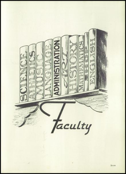 1951 Harrison Township High School Yearbook Page 9