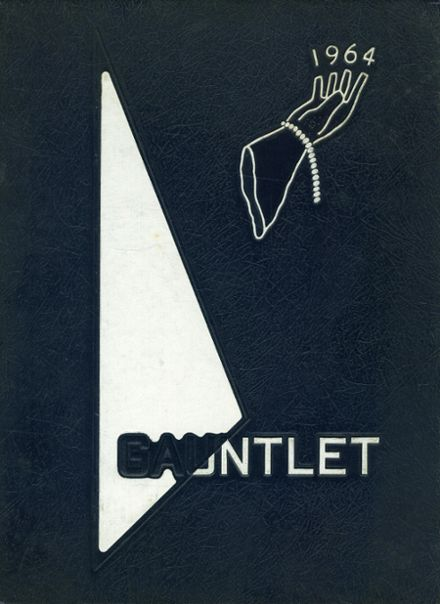 1964 Forest Hill High School Yearbook Cover
