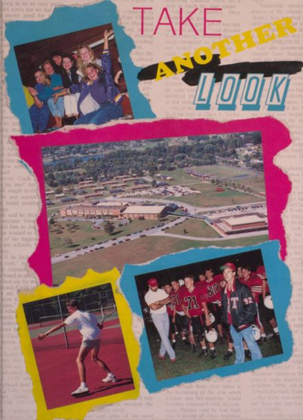 1991 Taylor County High School Yearbook Cover