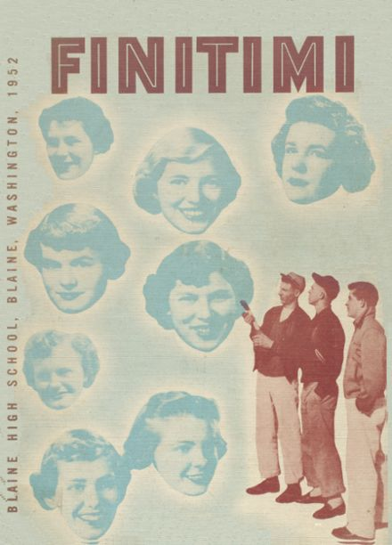 1952 Blaine High School Yearbook Cover