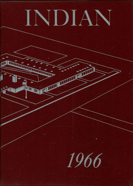 1966 Chesaning Union High School Yearbook Cover