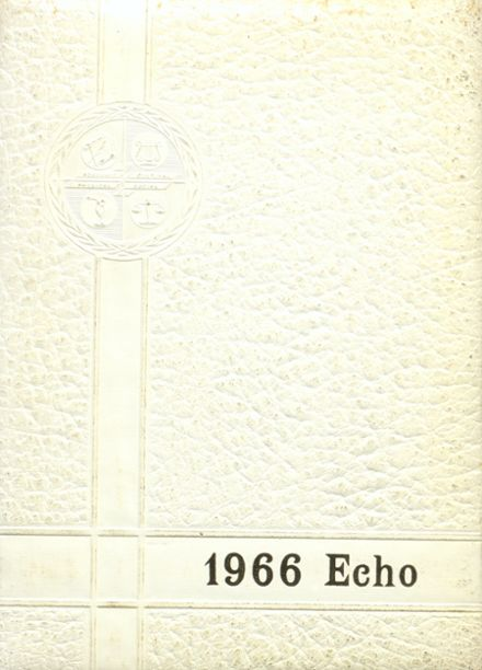 1966 Western High School Yearbook Cover
