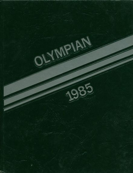 1985 James Madison Memorial High School Yearbook Cover