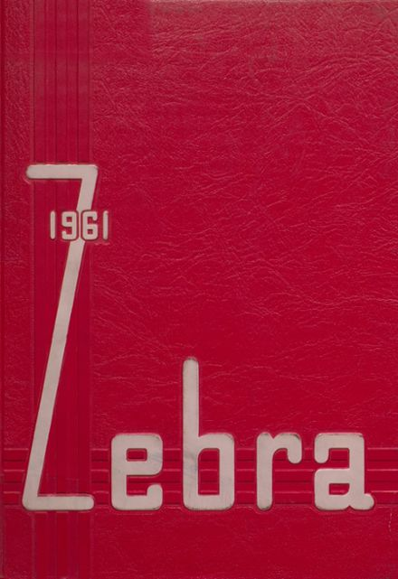 1961 Pine Bluff High School Yearbook Cover