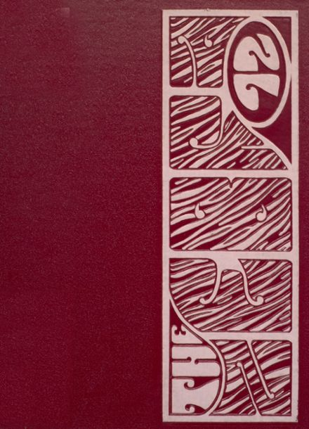 1972 Pine Bluff High School Yearbook Cover