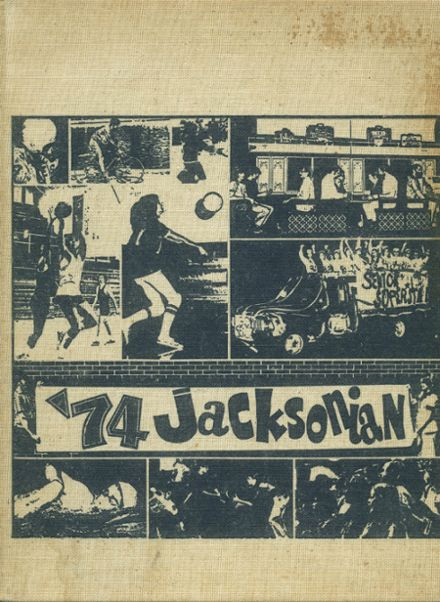 1974 Jackson High School Yearbook Cover