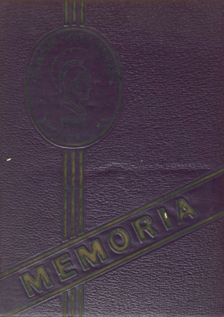 1962 Tremont High School Yearbook Cover
