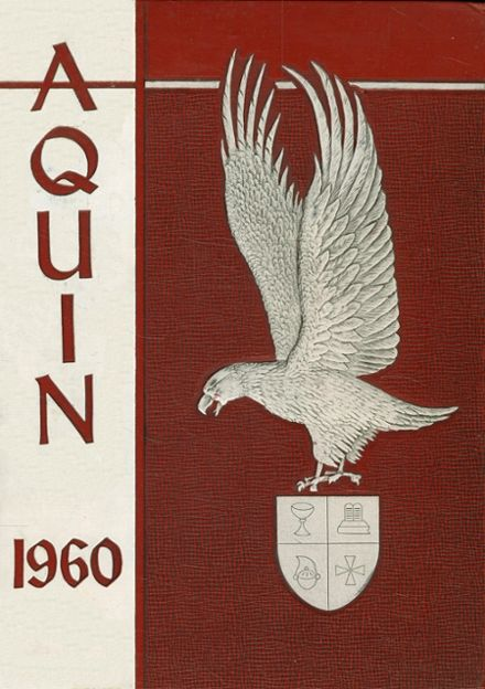 1960 St. Thomas High School Yearbook Cover