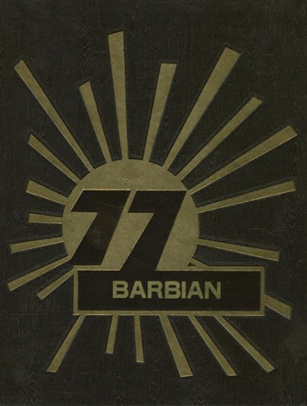 1977 St. Barbara High School Yearbook Cover