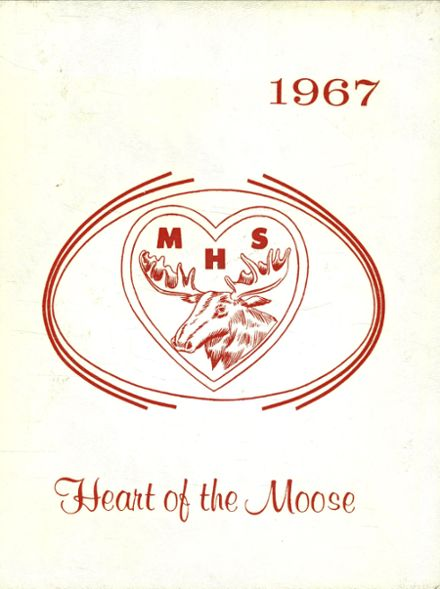 1967 Mooseheart High School Yearbook Cover