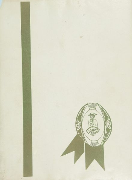 1967 Norte Del Rio High School Yearbook Cover