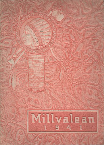 1941 Millvale High School Yearbook Cover