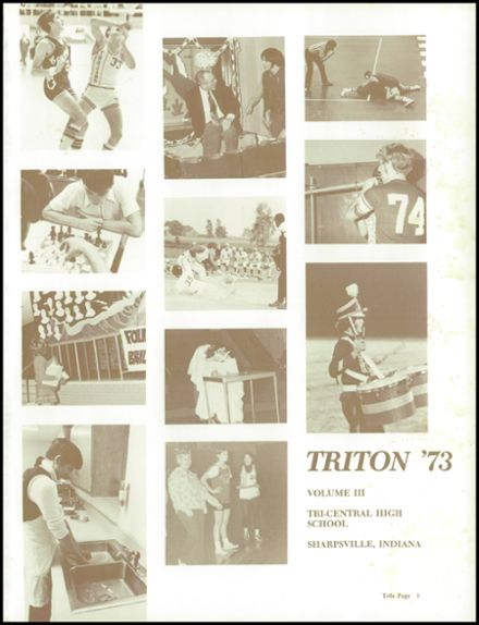1973 Tri-Central High School Yearbook Page 5