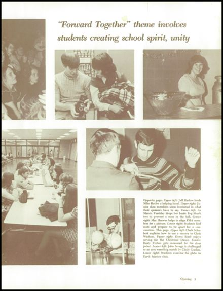 1973 Tri-Central High School Yearbook Page 7