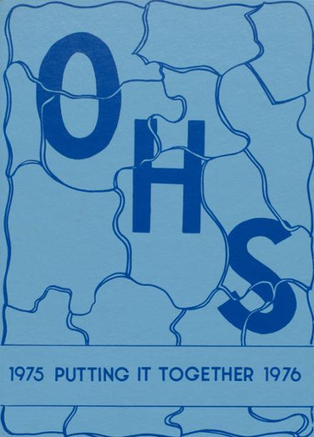 1976 Osceola High School Yearbook Cover