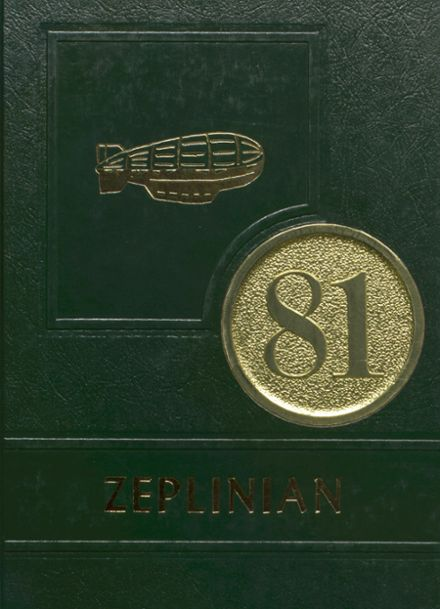1981 Shenandoah High School Yearbook Cover