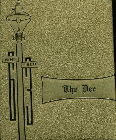 1963 Downs Community High School Yearbook Cover