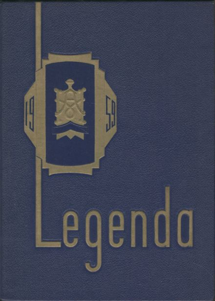 1959 Arthur Hill High School Yearbook Cover