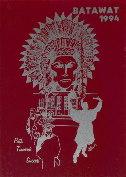 1994 Stebbins High School Yearbook Cover