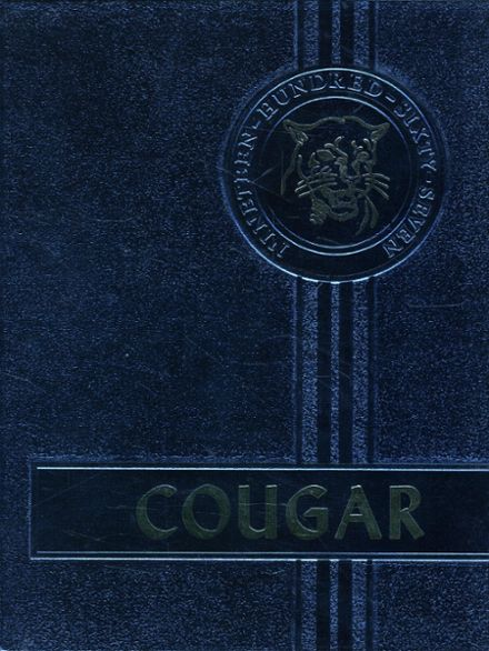 1967 Courtenay High School Yearbook Cover