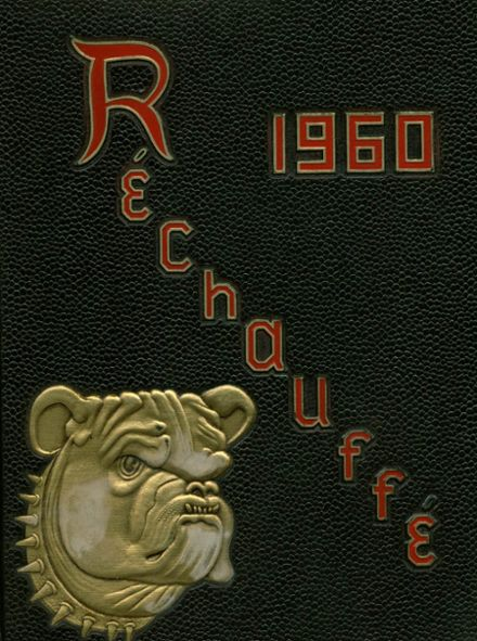 1960 Easton Area High School Yearbook Cover