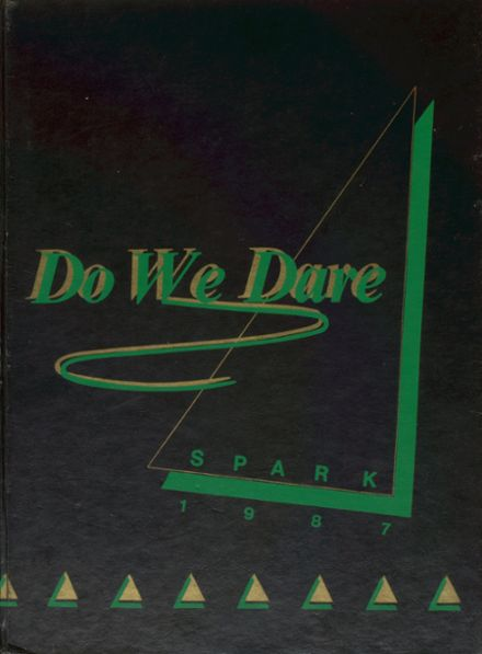 1987 St. Mark's High School Yearbook Cover