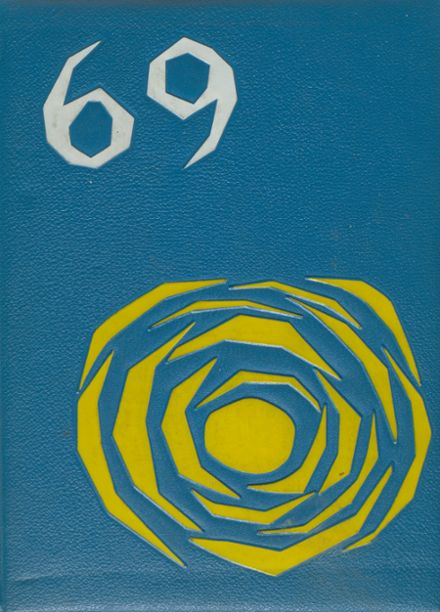 1969 Western Military Academy Yearbook Cover