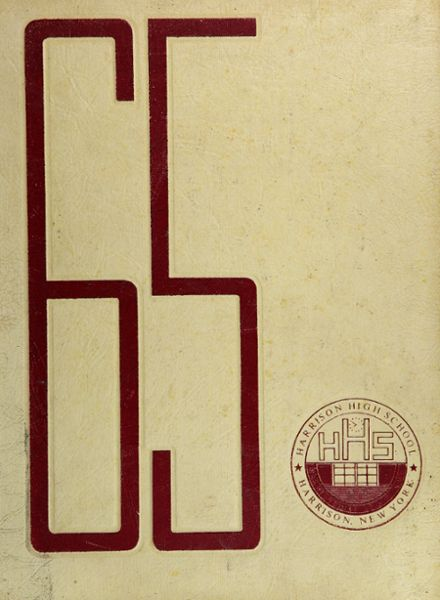 1965 Harrison High School Yearbook Cover