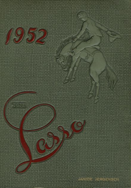 1952 Clarion High School Yearbook Cover