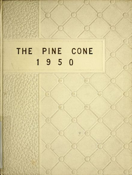 1950 Sacred Heart Academy Yearbook Cover