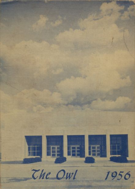 1956 Hondo High School Yearbook Page 1