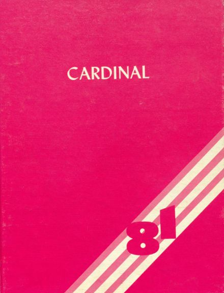 1981 Humboldt High School Yearbook Cover