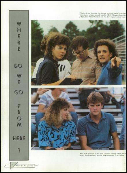 1987 McClellan High School Yearbook Page 6